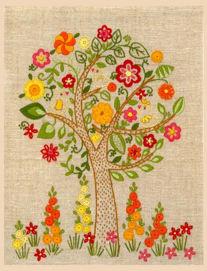 Наборы для вышивки (декоративные швы)